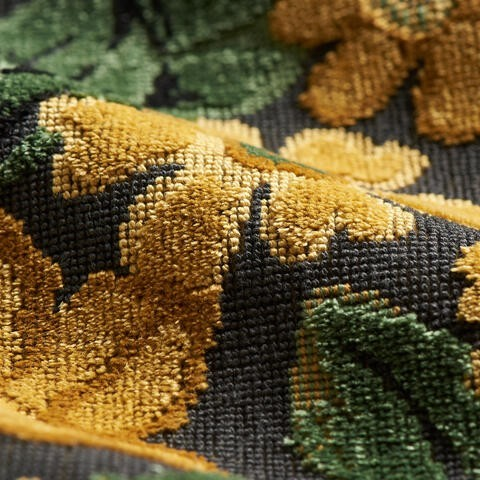 Clarence House Dunrobin Tapestry Malachite